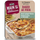 Coupon of Save $1 on one (1) Main St Bistro Baked Scalloped Potatoes, Baked Macaroni & Cheese, Baked Hash Brown Casserole, or Au Gratin Potatoes