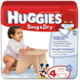 Coupon of $2.50 on Any ONE (1) package of HUGGIES Diapers